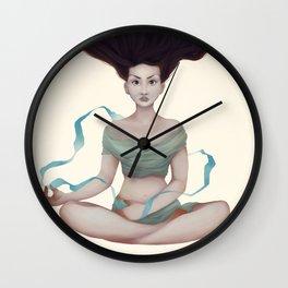 Ribbon of Water Wall Clock