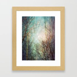 Ice Age Framed Art Print