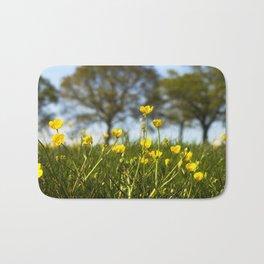Buttercup meadow Bath Mat