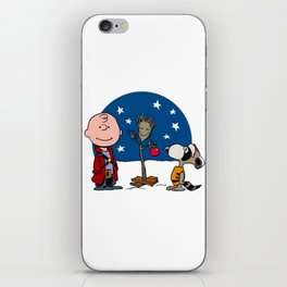 Snoopy Christmas Guardians iPhone Skin