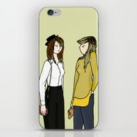 ombre iPhone & iPod Skins featuring Ombre by 1hugaday