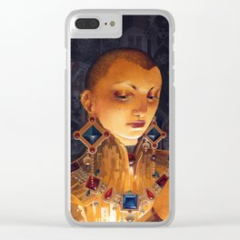 Covetous Clear iPhone Case
