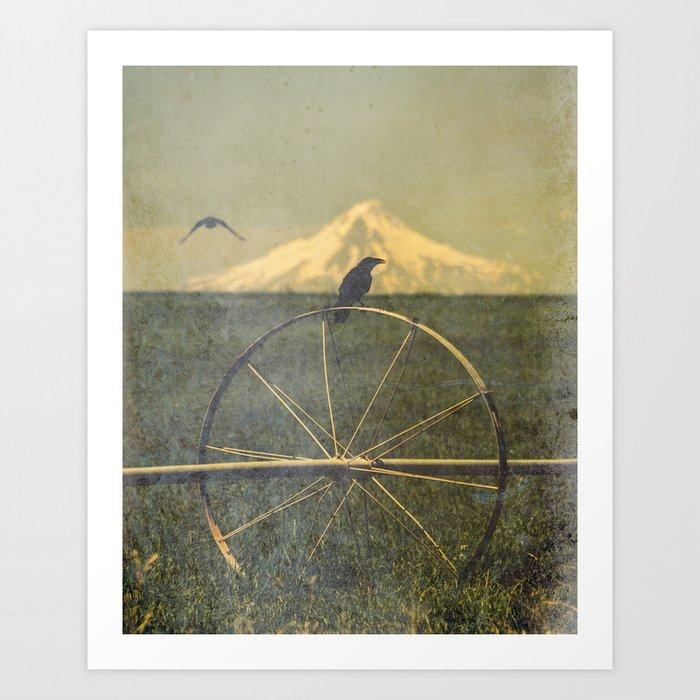 Jefferson Raven II Art Print