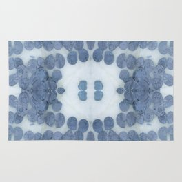 Sea Shell Disco Powder Blue Rug