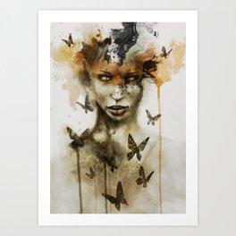 Jay Freestyle - Gaze Art Print