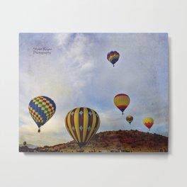 Balloon Fair 2 Metal Print