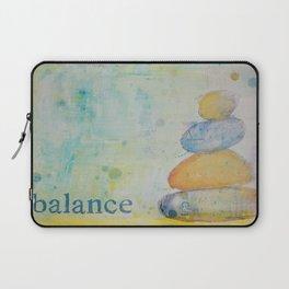 Balance pebbles Laptop Sleeve