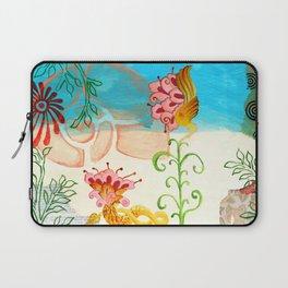 Sea Shell Flowers II Laptop Sleeve