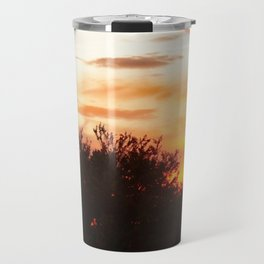 sunset in Belmont Travel Mug
