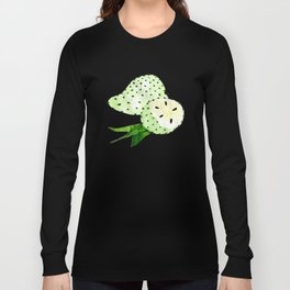 Soursop - Singapore Tropical Fruits Series Long Sleeve T-shirt