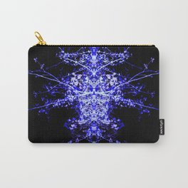 Neon Mirrored Trees 3 Carry-All Pouch