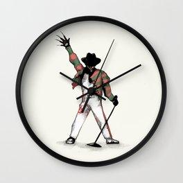 Scream Queen Wall Clock