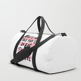 It's Full Of Secrets Duffle Bag