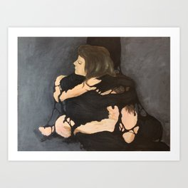 I love you, but you need to go Art Print