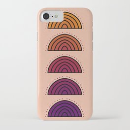 Flowers of Sunset iPhone Case