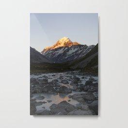 Aoraki/Mt Cook National Park II Metal Print