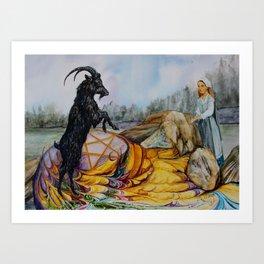 Black Philip Art Print