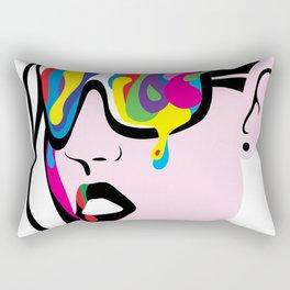 Abstract Vision Rectangular Pillow