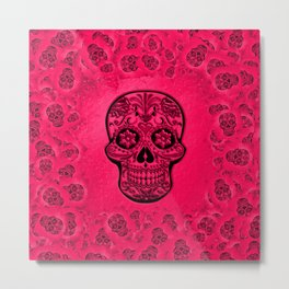 Skull20170266_by_JAMFoto Metal Print