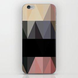 BLACK TWO iPhone Skin