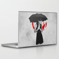 umbrella Laptop & iPad Skins featuring Umbrella by Bill Pyle