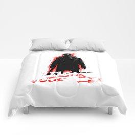 Jason Voorhees In shadow Comforters