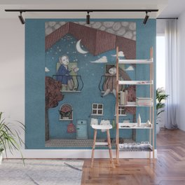 Staying Home (2)  Wall Mural