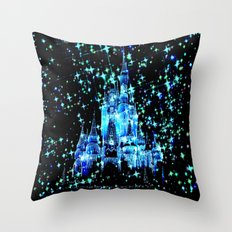 Fantasy Fairy Tale Castle Throw Pillow