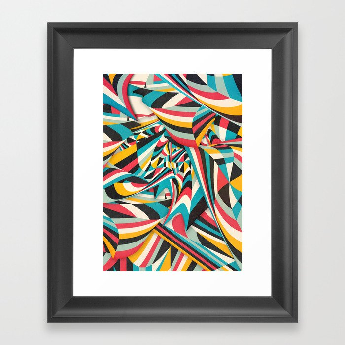Don't Come Close Framed Art Print