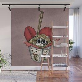 Lucky Cat Wall Mural
