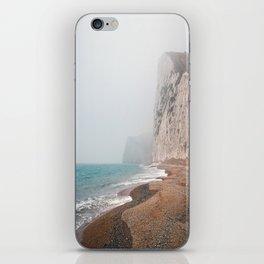 Dreary Beach iPhone Skin
