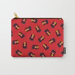 Lucky Black Cat Carry-All Pouch