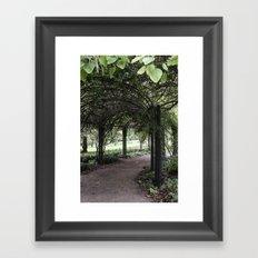 Hyde Park, London Framed Art Print