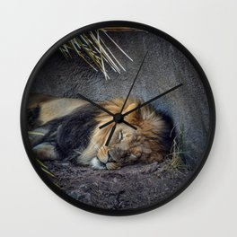 The Lion Sleeps Tonight Wall Clock