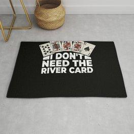 Poker Vegas Gambling Casino Rug