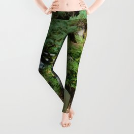 Japanese garden 7 Leggings