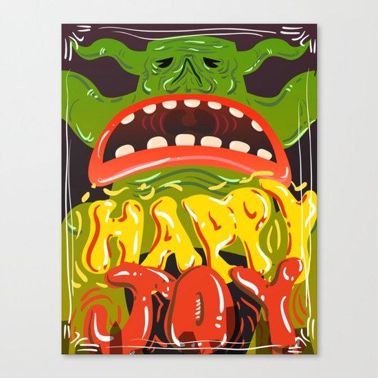 Happy Joy Canvas Print
