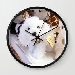 puppy doll Wall Clock