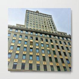 Art Deco Architecture Metal Print