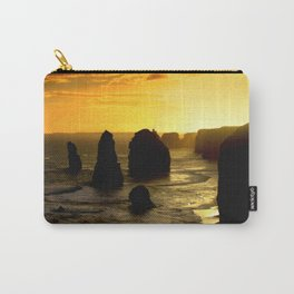 Sunset over the Twelve Apostles - Australia Carry-All Pouch