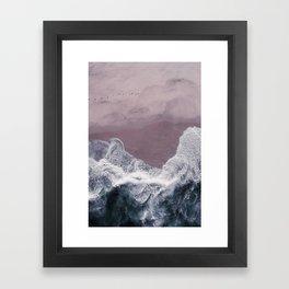 Sands of Lavender Framed Art Print