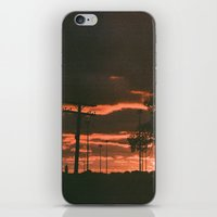 detroit iPhone & iPod Skins featuring Detroit by Amber Hewitt