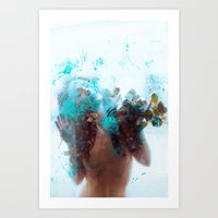 Women who loves too much Art Print