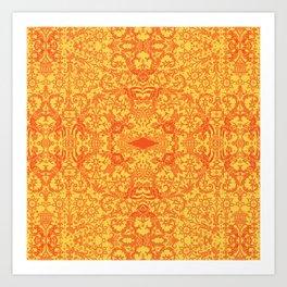Lace Variation 06 Art Print