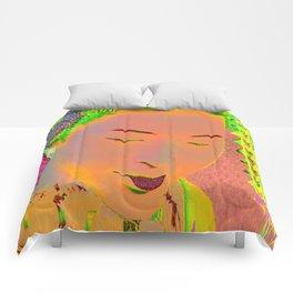 Geisha Pop Art Comforters