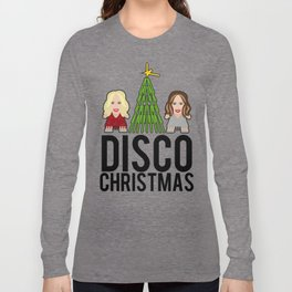 Kylie & Dannii - Disco Christmas Long Sleeve T-shirt