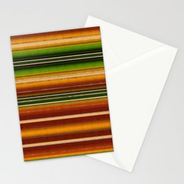 Mexican serape #1 Stationery Cards