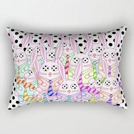 Life Between the Dots Rectangular Pillow