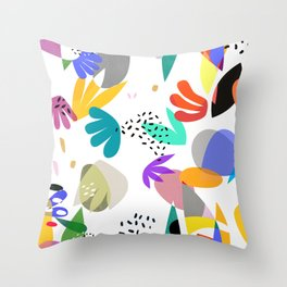 MATISSE ABSTRACT CUTOUTS Throw Pillow