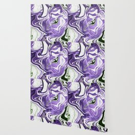 Ultraviolet Marble Wallpaper